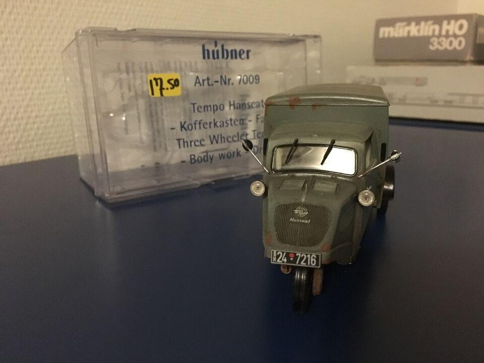 Modeltog, Hübner SPOR1 - Unikum - Specialbil, skala 1