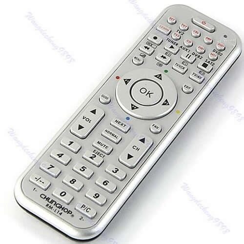 14in1 Universal Smart Remote Control With Learn Function Fr TV DVB CBL DVD SAT