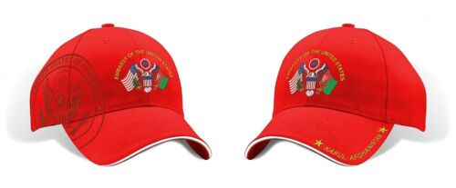 EMBASSY OF THE UNITED STATES KABUL AFGHANISTAN MILITARY RED  HAT CAP