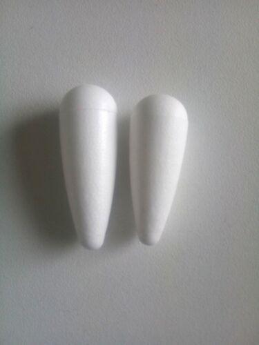 styropor für Posen Schwimmer Verschiedene Modelen 40 st Unvollendet Materialen