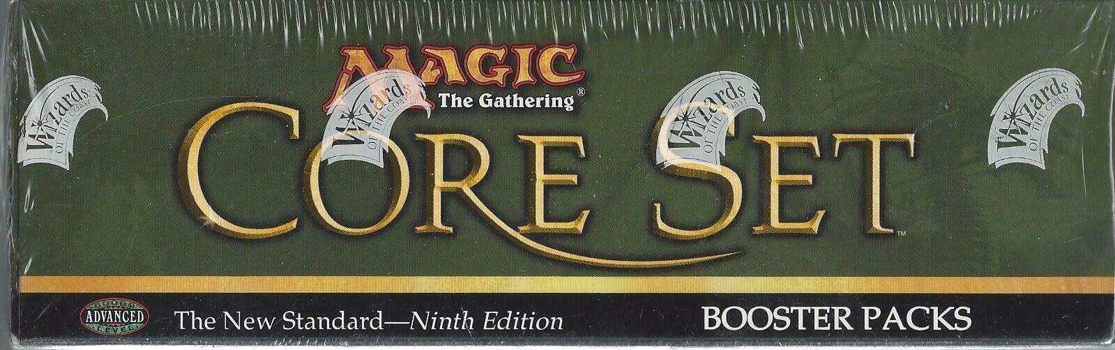MTG Magic the Gathering - Factory Sealed - 9 th Edition Core Set Booster Box