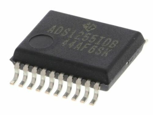 de un solo extremo de entrada 20-Pin SSOP Los anuncios 1255 idbt 24 bits Serial ADC diferencial