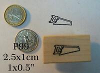 P99 Saw Rubber Stamp Wm