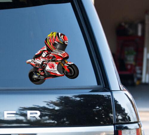 cartoon image Racing Super Bike Sticker Race Decal motoGP 30 Takaaki Nakagami