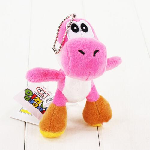15cm-25cm Super Mario Bros Plush Doll Stuffed Soft Luigi Birdo Caterpillar Toy