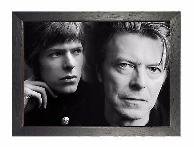 David Bowie 7 England Song Writer Music Famous Celebrity Singer Producer Poster