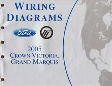 2005 ford crown victoria grand marquis factory oem wiring diagrams manual  211805