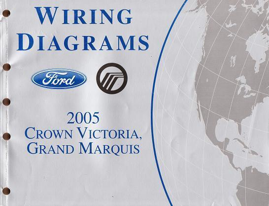 s l640 2005 ford crown victoria grand marquis factory oem wiring diagrams