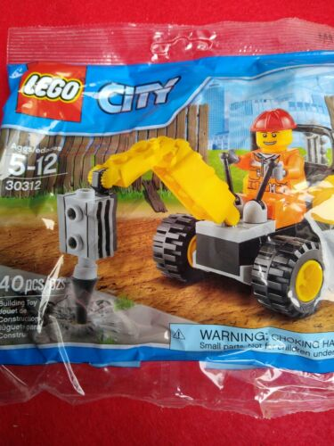 Lego City  Demolition driller construction set 30312 40 PC/'s release 2015 new