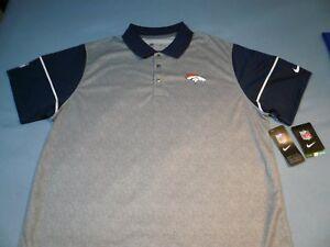 Image is loading Nike-Denver-Broncos-BRAND-NEW-Collared-shirt-NFL- e899dcc89