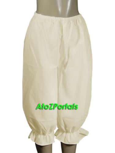 Vintage Style Old Fashioned Women Cotton Sissy Bloomers Pantaloons India Made