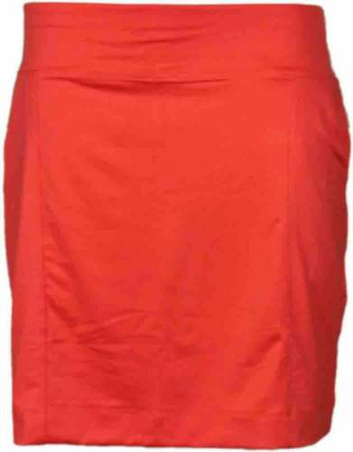 Page /& Tuttle Knit Pull On Skort  Casual   Shorts Womens Orange