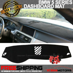 Dashboard Cover Dash Cover Mat Pad Custom Fit for BMW X1 2016-2018 Model Set Red Line