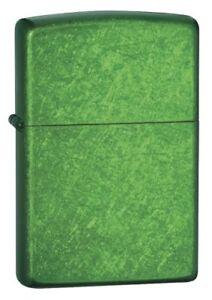Zippo Zo24840 Lighter Meadow Jewel Tone Green Translucent Finish World Fa