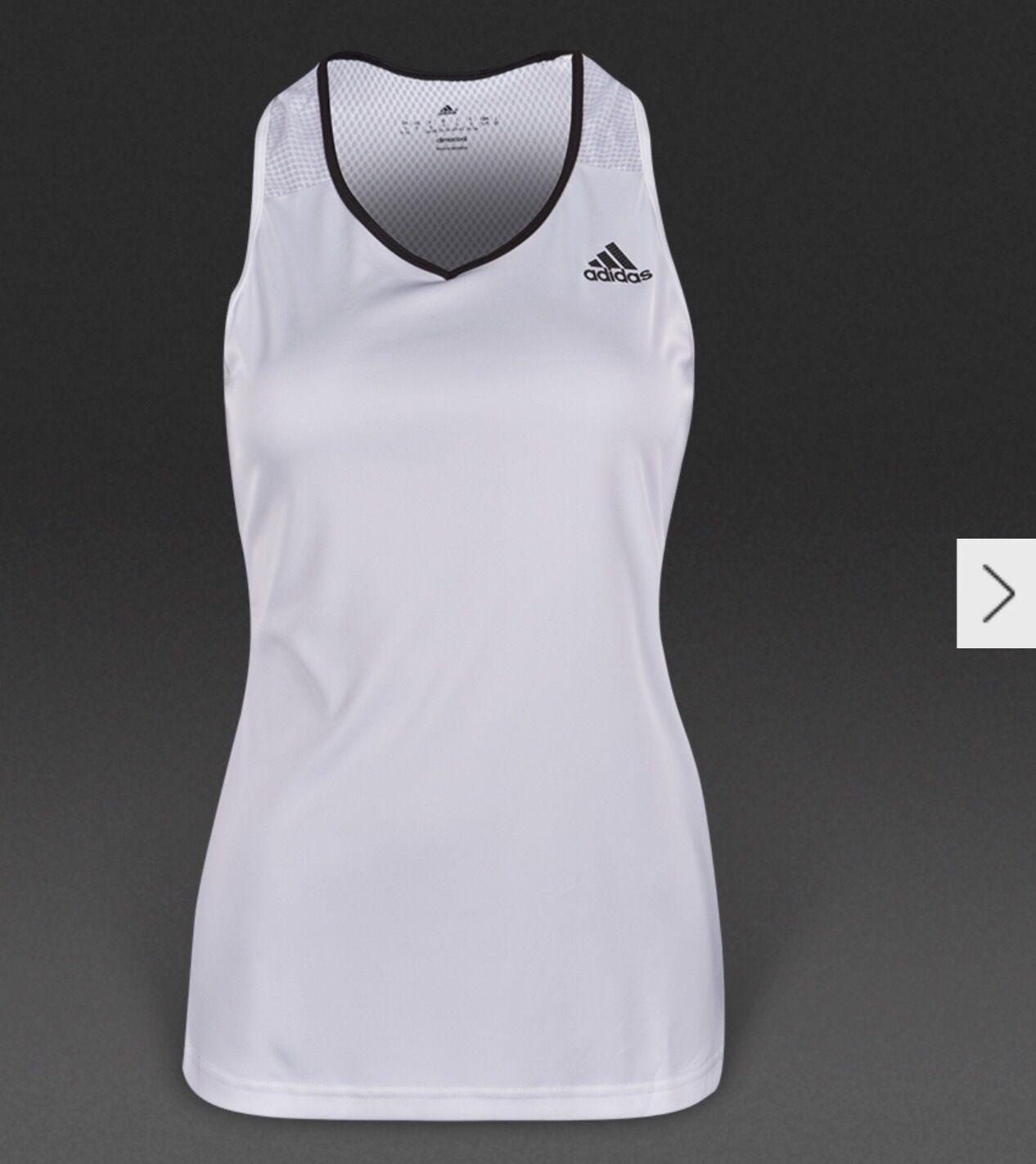 Adidas Womens Climalite Tennis Training Top exercise ladies large medium RRP