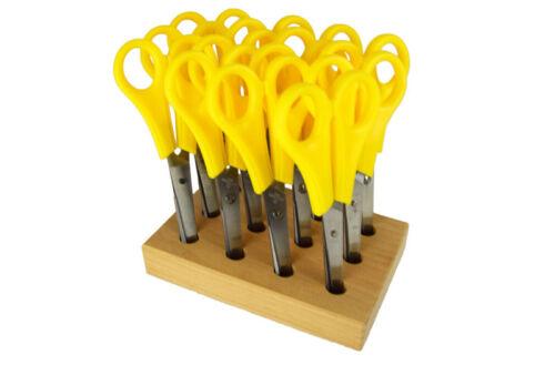 Kinder-Scheren Bastel-Scheren Aufbewahrung Kindergarten Set Scherenständer