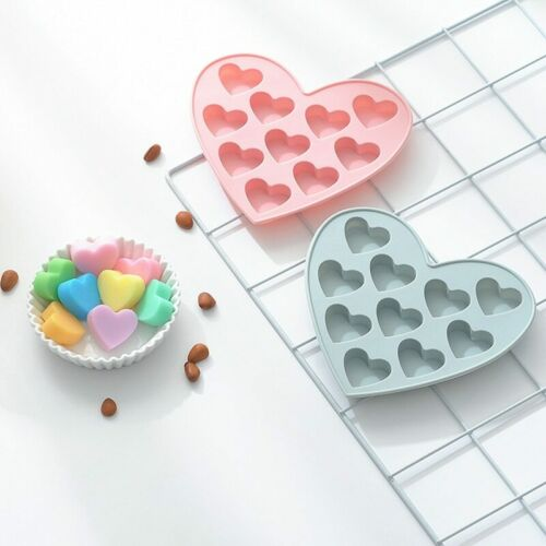 3D Small Love Heart Silicone Cake Mold Baking Jelly Candy Chocolate Soap Moulds