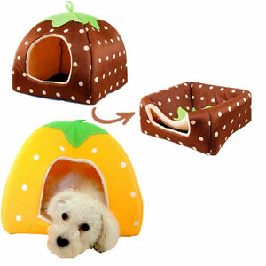 Super-New-Soft-Pet-Dog-Cat-Bed-House-Kennel-Doggy-Warm-Cushion-Basket