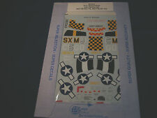 SUPER SCALE DECALS P-51 MUSTANGS 355 354 352 353 364 357 FS FG 48-205 1:48