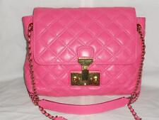 Marc Jacobs The Single Baroque Pink Quilted Leather Flap Shoulder Crossbody Bag