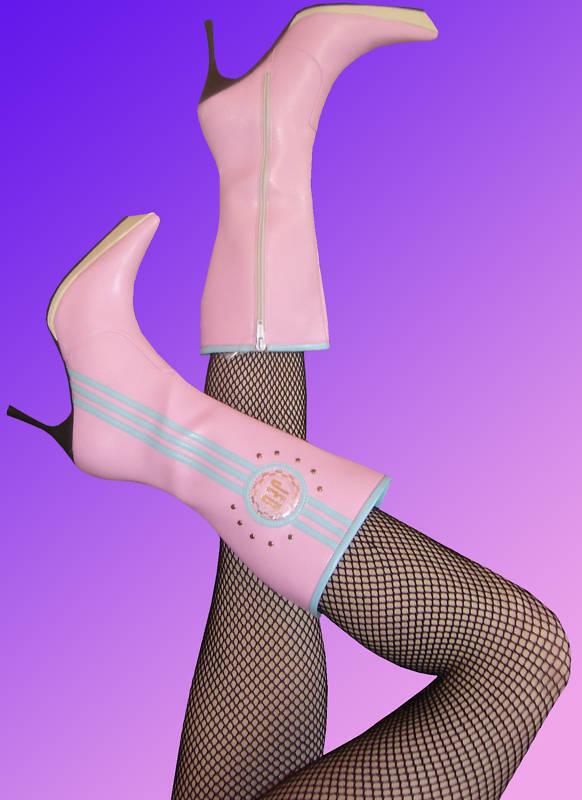 Disco High Heels Stiefel Stiefeletten Schuhe 36 37 38 39 Neu