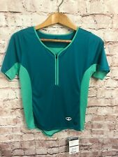 item 6 Pearl Izumi CANYON Cycling Short Sleeve Jersey Zip Neck Women s Size  Large Green -Pearl Izumi CANYON Cycling Short Sleeve Jersey Zip Neck Women s  ... 3d089d6bf
