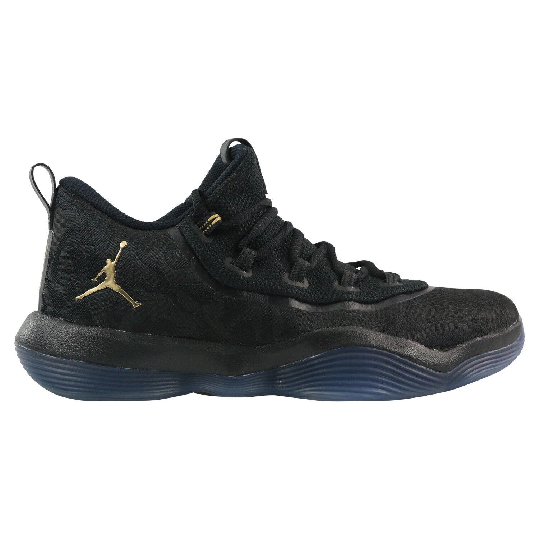 Nike Jordan Super. Fly 2017 Faible PF paniers Chaussures Hommes Noir aa2547 021