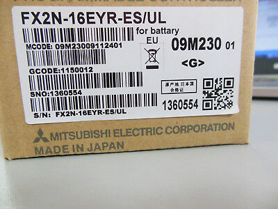 Fast ship Mitsubishi PLC FX2N-16EYR-ES//UL NEW FREE EXPEDITED SHIPPING
