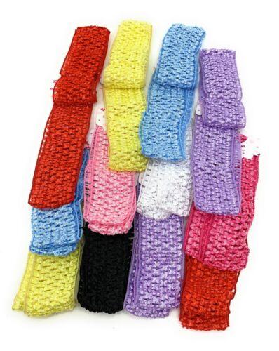 Wholesale lot 48 pcs Crochet Headband With 1.5 inch  Polyester.