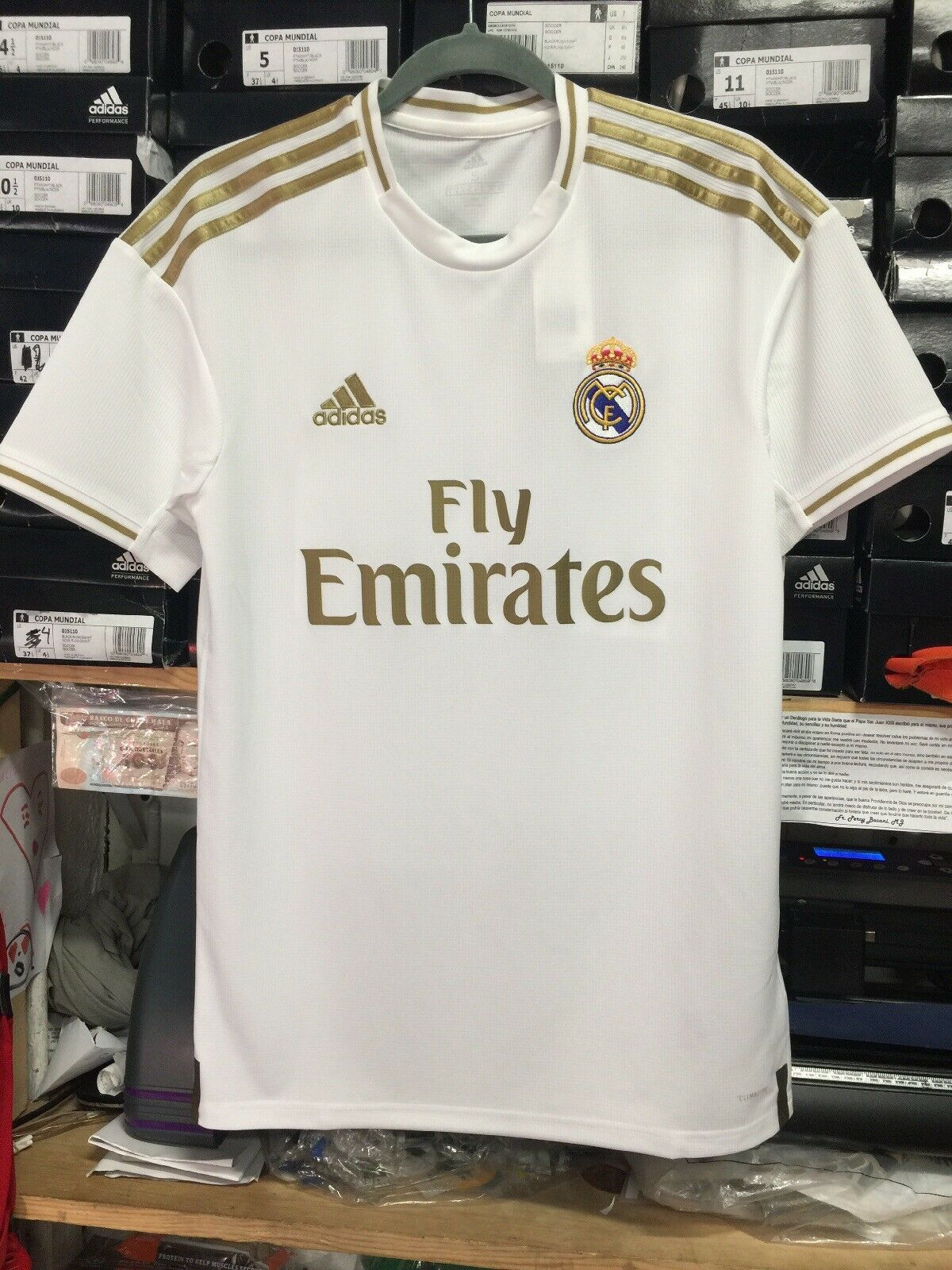 adidas Men's Real Madrid 2020-21 Home Soccer Jersey Size Small ...