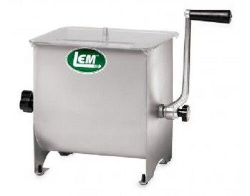 Nouveau LEM Products 654 en acier inoxydable 20 lb (environ 9.07 kg) 11  X 8 3 4  x 11  Manuel viande mixeur