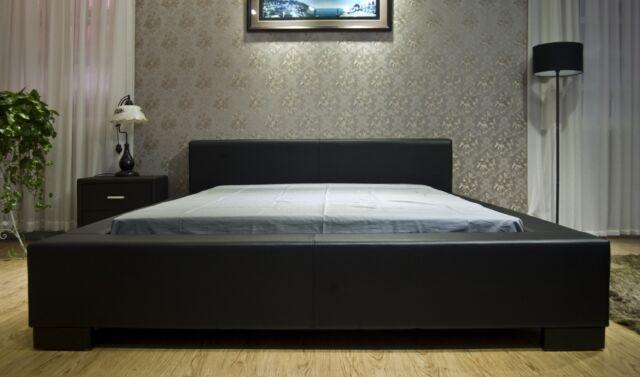 Genial GREATIME B1142 Vinyl Contemporary Platform Bed