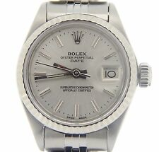 Rolex Date 6917 Steel & 18k White Gold Automatic Ladies Watch
