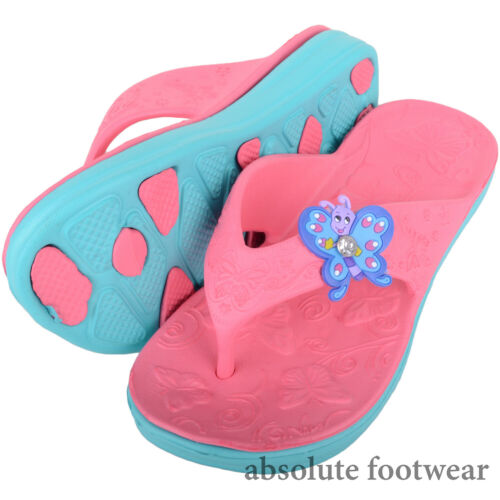 Beach Sandal Holiday Kids Childrens Toe Posts Girls Summer Flip Flop