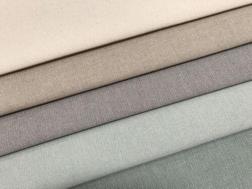 Panama Basic grau//weiß Canvas Uni Taschenstoff