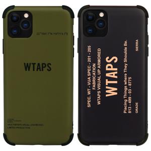 Wtaps-SS19-phone-Case-Cover-pour-Apple-iPhone-11-Pro-Max-XR-XS-X-bape-8-plus-7