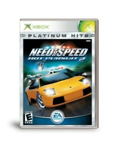 Xbox - Need For Speed Hot Pursuit 2 Clean Scratch Free Game Disc Only