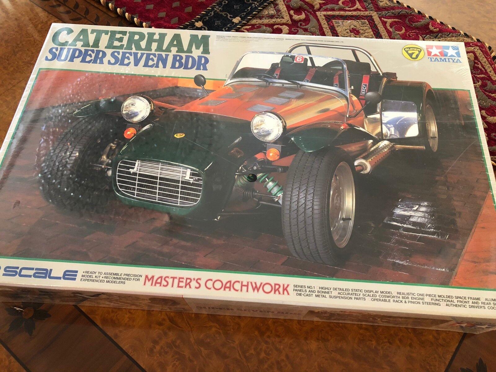 Tamiya   Neuf Scellé   1 12 Kit   Caterham Super 7 Bdr   Master's Carrosserie