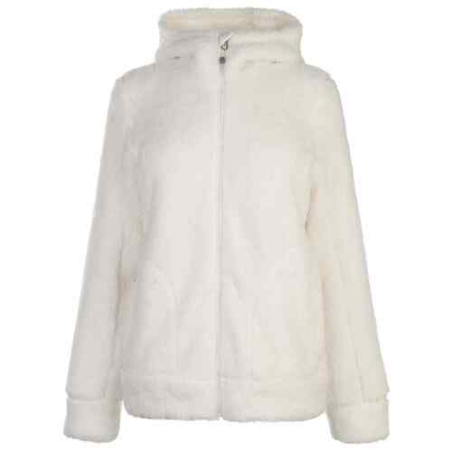 Gelert Womens Yukon Hooded Fleece Zip Hoodie Hoody Top