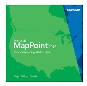 Mappoint 2013 Europe  For Sale