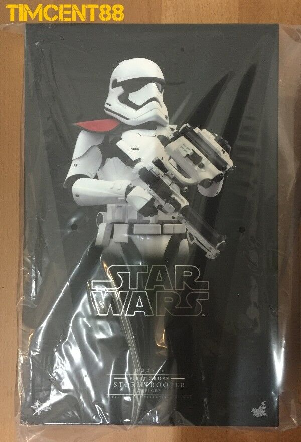 listo Hot Toys MMS334 Star Wars Force despierta primera orden Stormtrooper oficial