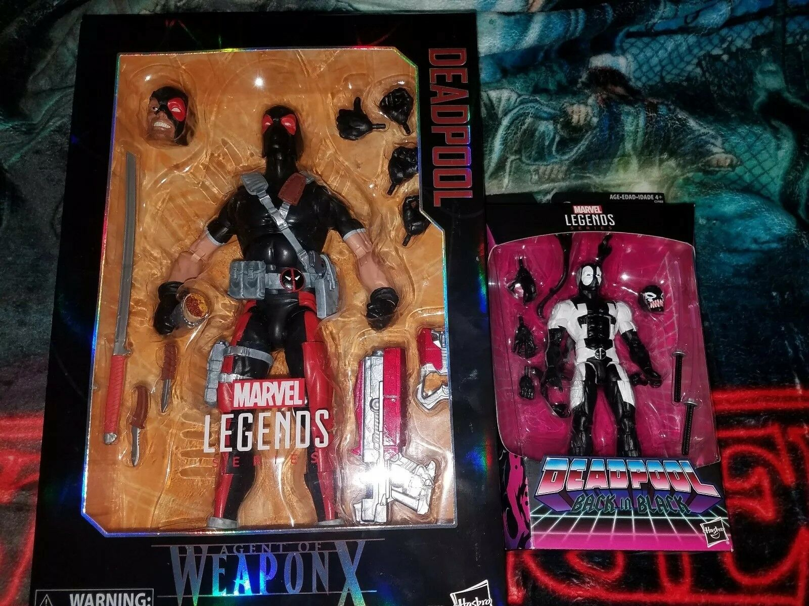 förundras LEAGENT OF WEAPON X Deadpool Action Lot