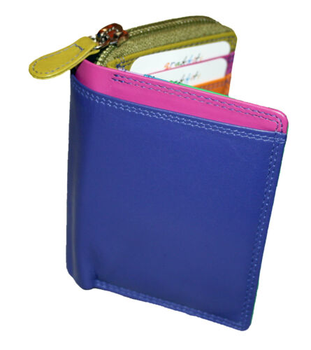 NEW WOMENS GOLUNSKI SMALL COIN//CREDIT CARD HOLDER COLOURS VARIOUS  STYLE 7113