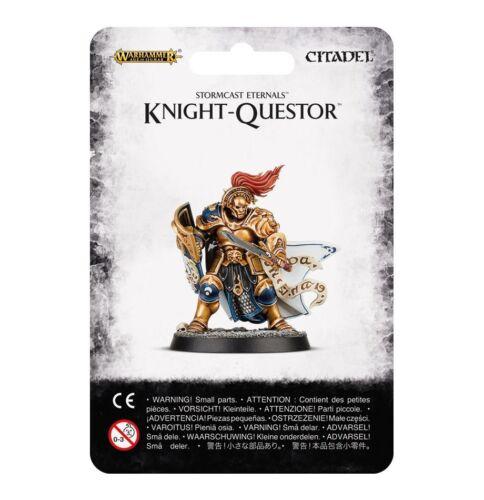 Warhammer Age of Sigmar Stormcast Eternals Knight-Questor GW 96-27 Plastic NIB