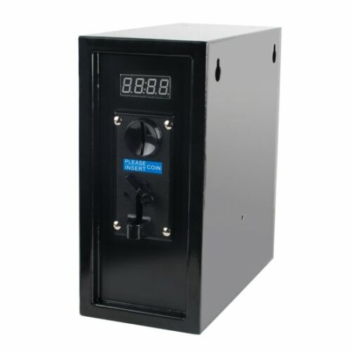 CE US Stock Coin Operated Timer Control Box Multi Coin Selector Acceptor 110V