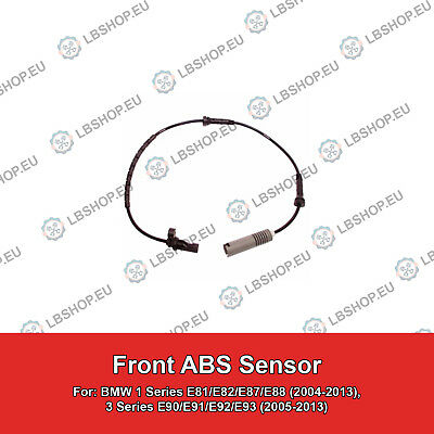 Meyle Wheel Speed Sensor 3148990045 Fits Front left and right BMW