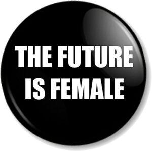 Women Ladies  Hair Girl Enamel Pin Badge Brooch Lapel Pin Feminist KS