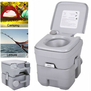 Portable Toilet /& Chemicals Mobile Camping Chemical WC Outdoor Picnic Festivals