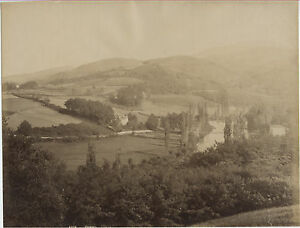 Cambo Pyrenees-Atlantico Albumina Vintage Albume D'Uovo Ca 1880