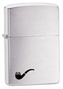 Zippo 200pl pipe brushed chrome Lighter